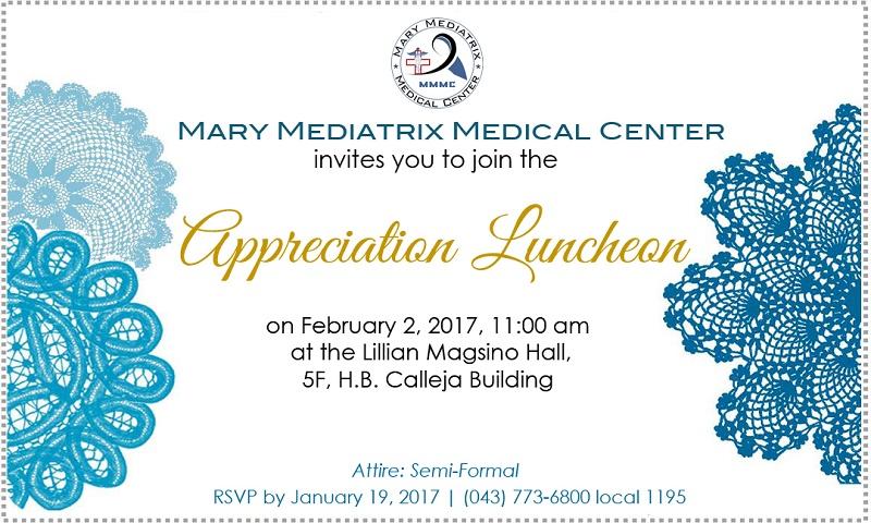 aInvitation Luncheon 20171