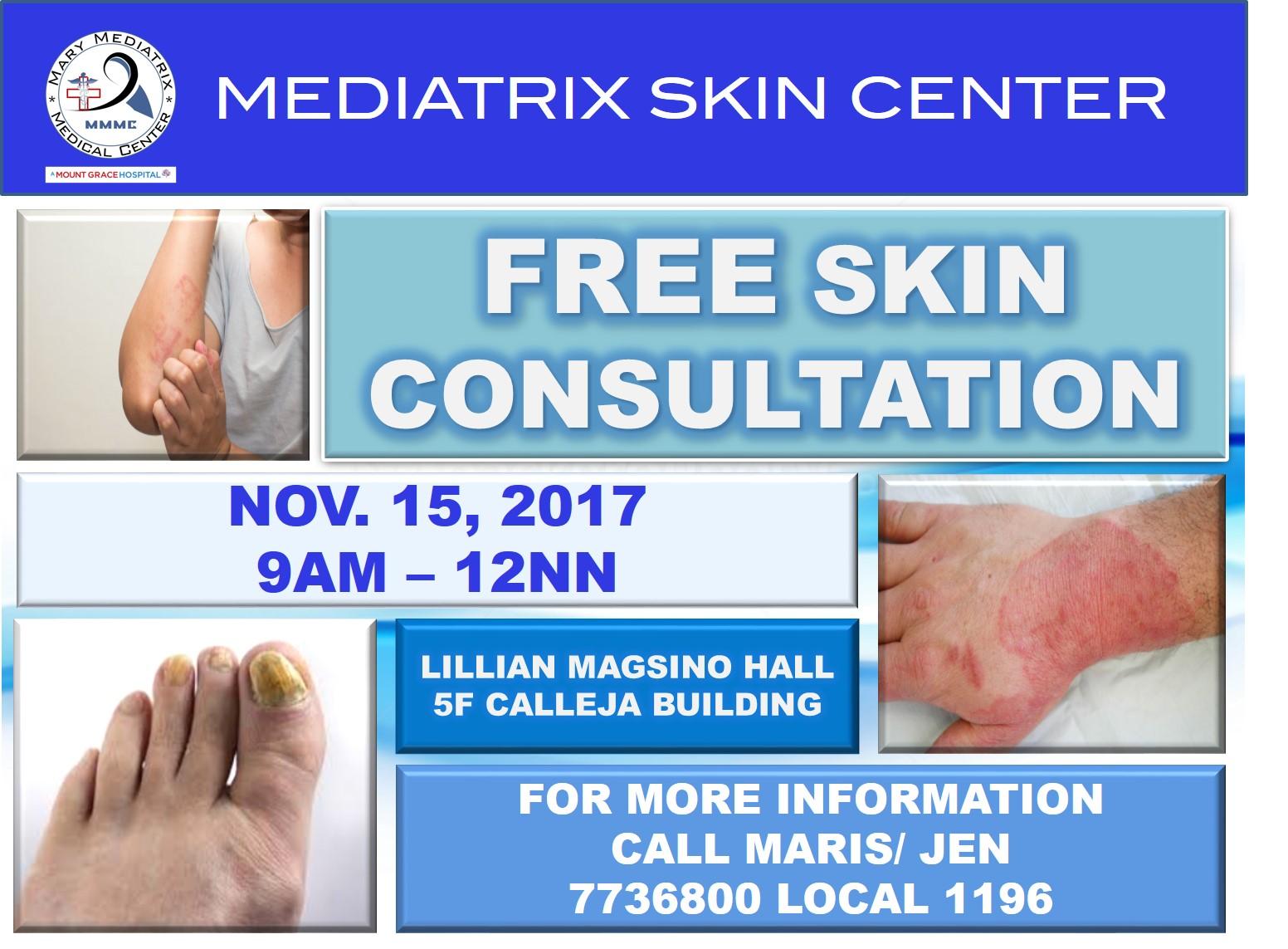 free skin clinic